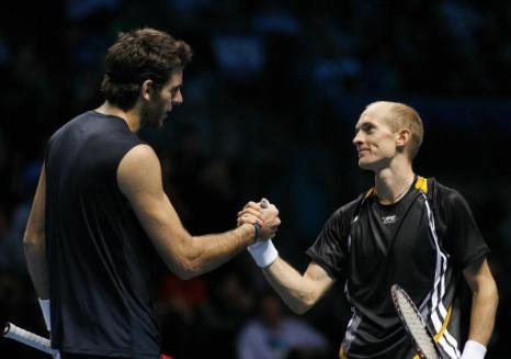 Николай Давыденко выиграл итоговый турнир года. Фото: GLYN KIRK/AFP/Getty Images
