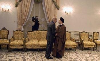 Мохамед Барадеи посетил Иран в апреле. Фото: Majid Saeedi/Getty Images