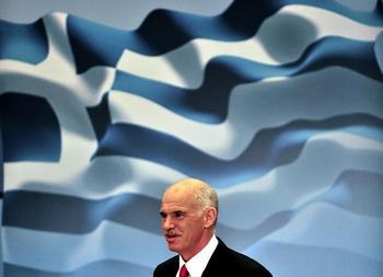 Георгио Папандреу (George Papandreou). Фото: ARIS MESSINIS/AFP/Getty Images