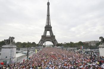 Французы около Эльфевой Башни в день