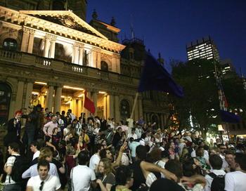 Австрия: в Вене прошла забастовка студентов. Фото: Sergio Dionisio/Getty Images