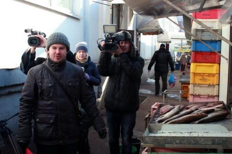 На Центральном рынке города Калининграда обнаружена рыба без ветеринарных документов. Фото предоставлено пресс-службой Калининградского отделения МЭОО «Зеленый фронт»