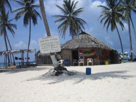 Исла Перро или Dog Island - это один из сотни маленьких островков в автономном регионе Панамы, который местные индейцы называют Куна Яла. (С.В. Эллис)