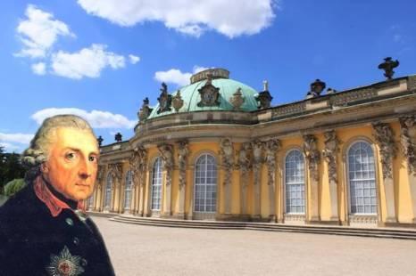 Фридрих Великий и его дворец Сан-Суси. Фото: Ирина Рудская/ The Epoch Times