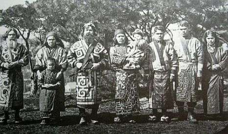 Сахалинские айны. Начало 20 века. Фото: sakhvesti.ru