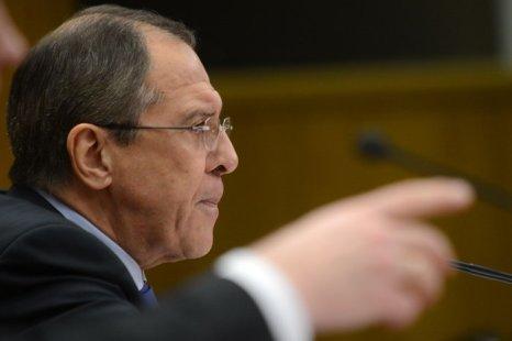 Сергей Лавров. Фото: KIRILL KUDRYAVTSEV/AFP/GettyImages