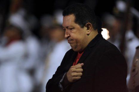 Президент Венесуэлы Уго Чавес. Фото: JUAN BARRETO/AFP/Getty Images