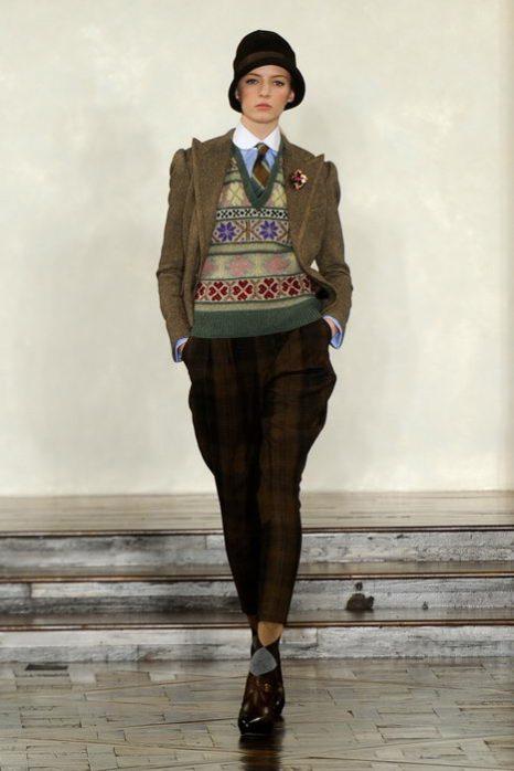 Мужской стиль в женской моде. Фото: Frazer Harrison/Getty Images