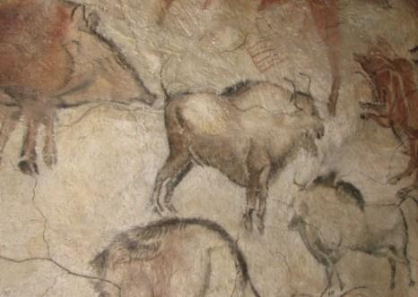 Наскальные рисунки из пещеры Альтамира в антропологическом павильоне Моравского Музея в Чешской Республике. Фото: Wikimedia Commons