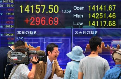 Экономика Японии набирает силу. Фото: KAZUHIRO NOGI/AFP/Getty Images