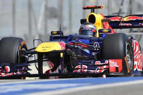Феттель стал лучшим гонщиком «Формулы-1» в Бразилии. Фото: YASUYOSHI CHIBA/AFP/Getty Images