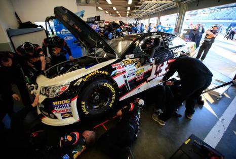 NASCAR Sprint Cup, самая престижная в мире гонка на сток-карах, началась 15 февраля 2014 года на трассе Дайтоны, штат Флорида (США). Фото: Jerry Markland/Getty Images