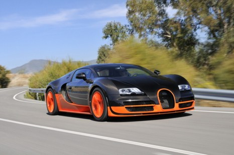 Bugatti Veyron Super Sports. Фото: Shutterstock