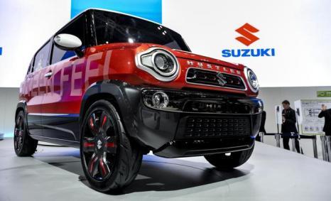 Корпорация Suzuki Motor продемонстрировала Hustler на автосалоне в Токио 20 ноября 2013 года. Фото: Keith Tsuji/Getty Images