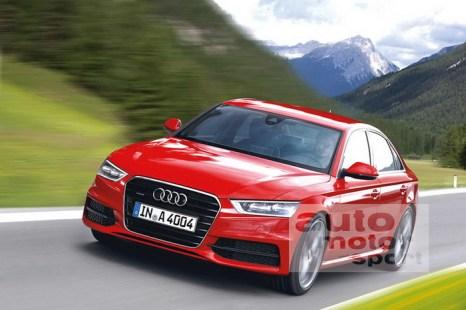 Audi A4. Фото:  auto.mail.ru