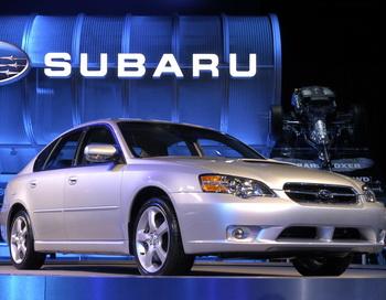 Subaru Legacy . Фото: Bryan Mitchell/Getty Images