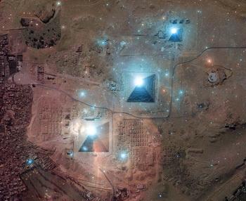 Трудности древних египтян. Фото с tainy.net