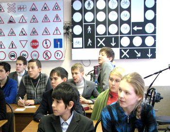 Сдать на права можно будет каждому школьнику прямо в школе. Фото нс сайта kctt.spb.ru