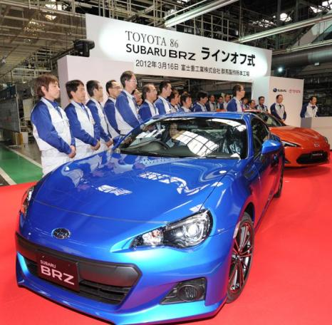 Subaru BRZ/Toyota GT86. Фото: KAZUHIRO NOGI/AFP/Getty Images