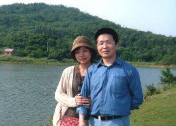 Скрипачка оркестра труппы Shen Yun Мэй Сюань и ее муж Цзян Фэн. Фото: Великая Эпоха