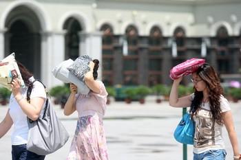 В Китае наблюдается аномальная жара. Фото с epochtimes.com