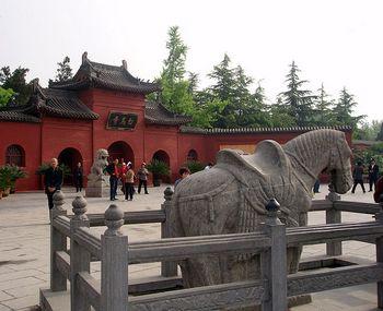 Культура древнего Китая: первый буддистский храм Белой лошади