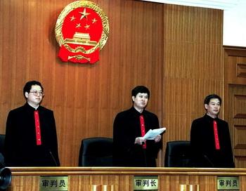 Судьи и прокурор были в ужасе. Фото: AFP/Getty Images