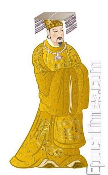 История древнего Китая, Желтый император Хуан-Ди.