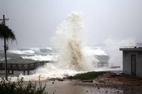 Тайфун Консон нанес удар по провинции Хайнань. Фото  с сайта news.bandao.cn