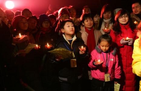 В Китае в Новый год возросло число посетителей храмов.Фото:Getty Images
