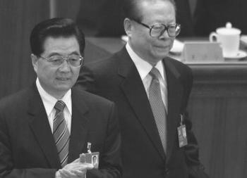 WikiLeaks: Цзяну Цзэминю не нравится Ху Цзиньтао. Фото: AFP PHOTO/Frederic J. BROWN