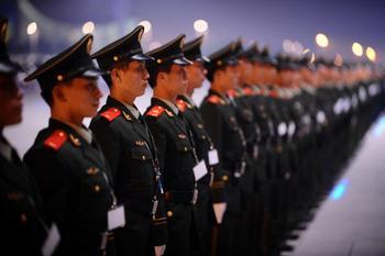 КНР продолжает наращивать военную мощь. Фото: AFP