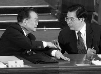 Премьер-министр КНР Вэнь Цзябао предупредил о надвигающемся на страну экономическом кризисе. Фото: FREDERIC J. BROWN/AFP/Getty Images