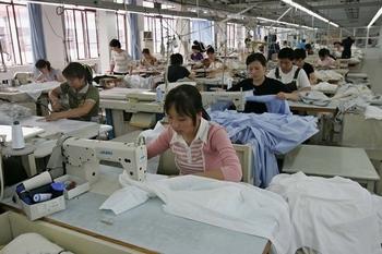 Текстильная промышленность в Китае стоит на пороге кризиса. Фото: Getty Images