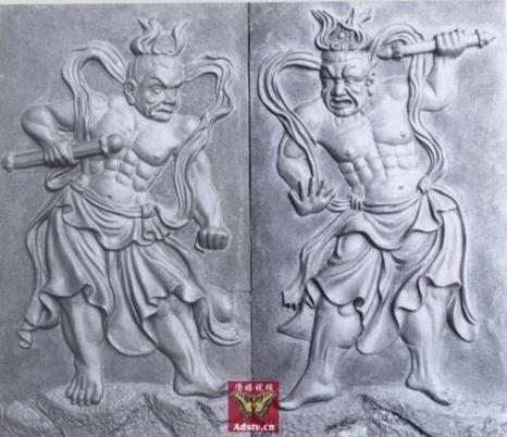 Боги-защитники Хэн и Ха. Фото с tupian.hudong.com