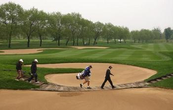 Площадка для гольфа в Пекине. Фото: Jan Walton/Getty Images