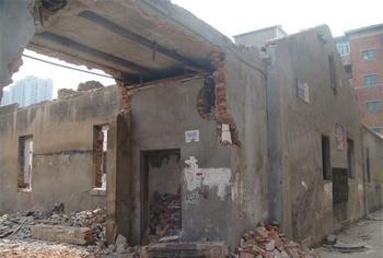 Оставшиеся руины после сноса общежития. Фото с epochtimes.com