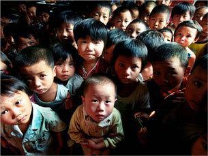 Деревня Хоуян, провинция Хэнань. Гао провела анализ здоровья детей, рождённых после 1996 года, и обнаружила, что 38% из них заражены СПИДом. Фото предоставлено Гао Яоцзе