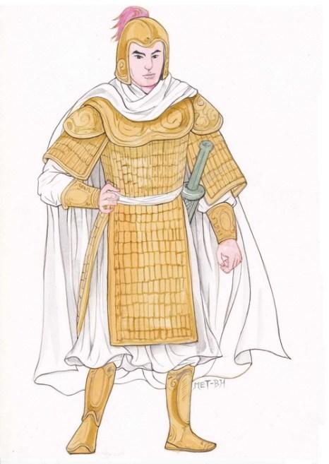 Чжао Юнь — преданный и храбрый генерал. Иллюстрация: Блу Сяо/Великая Эпоха (The Epoch Times)