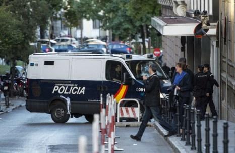 Китайская мафия «деформировала функционирование экономики», согласно руководителю испанской полиции. Фотог Getty Images