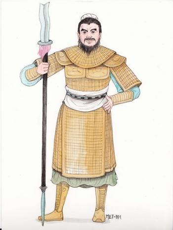 Чжан Фэй - храбрый генерал и беспристрастный судья. Иллюстрация: Блу Сяо/Великая Эпоха (Epoch Times)