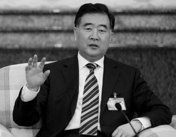 Реформатор Ван Ян, выступающий против жёсткого курса, в провинции Гуандун, март 2010 года. Фото: Liu Jin/AFP/Getty Images
