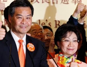 В Гонконге вступил в должность  новый глава администрации. Фото: world.fedpress.ru/news