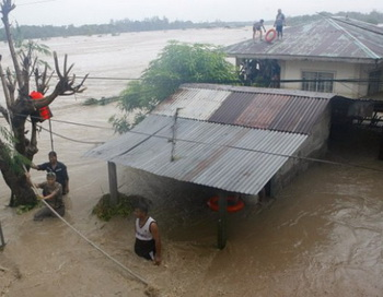 В Китае восточное побережье находится во власти тайфуна «Хайкуэй». Фото: сайт lifun.ru