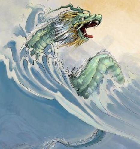 Цяньтан Цзунь отправляется бороться против драконов реки Цзинхэ. Фото: Шаошао Чэньи/Великая Эпоха