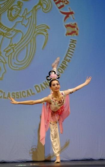 Миранда Чжоу-Галати выступает в финале конкурса классического танца, организованного NTD TV. Фото: Бин Дай/Великая Эпоха