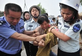В Китае обостряются противоречия между народом и властями. Фото: AFP