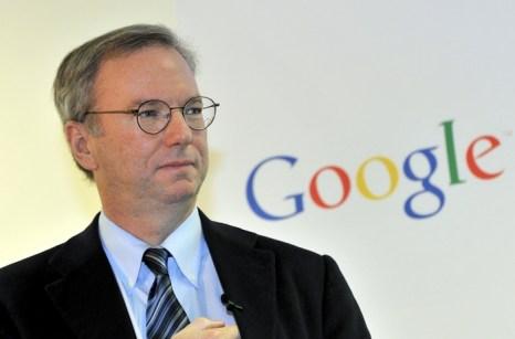 Эрик Шмидт, председатель совета директоров компании Google. Фото: JUNG YEON-JE/AFP/Getty Images