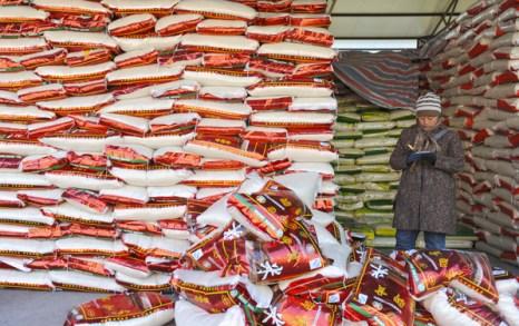Китай наращивает объёмы импорта продовольствия. Фото: AFP