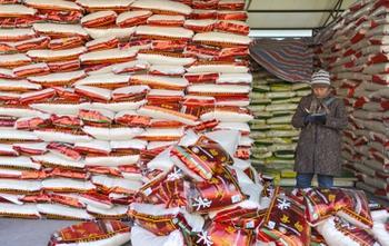 Китайский рис загрязнён тяжёлыми металлами. Фото: STR/AFP/Getty Images